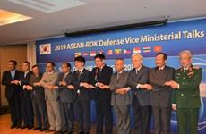 大力促进东盟与韩国全面防务合作