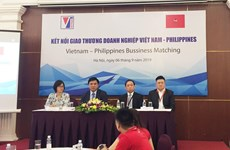 越南企业加强与菲律宾企业的贸易往来