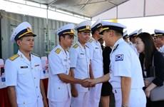 韩国军舰访问岘港市