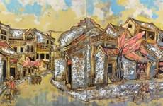 2019年传统磨漆画展在胡志明市举行