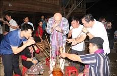 国际记者代表团对乂安省各旅游景点印象深刻
