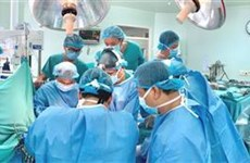 顺化中央医院一月内器官移植手术数量创下纪录