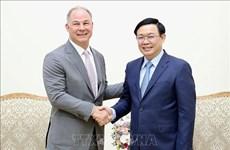 越南政府副总理王廷惠欢迎美国企业在越南开展能源合作