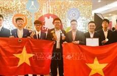 越南首次参加莫斯科国际奥林匹克竞赛并取得令人瞩目的成绩