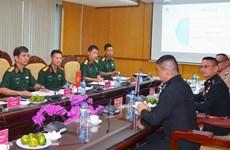 越南与英国和泰国在联合国维和行动中的合作