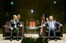 越南公安部长苏林会见中国国家禁毒委员会副主任曾伟雄