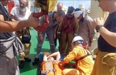 成功救助在越南黄沙海域遇险的外籍人员