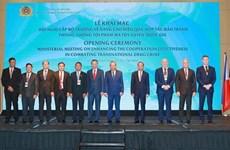 越南着力加强禁毒国际合作