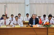 越南安江省和柬埔寨甘丹省促进边贸往来
