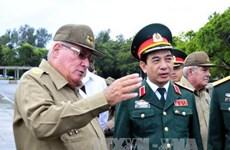 古巴革命武装力量部第一副部长兼总参谋长即将对越南进行正式访问