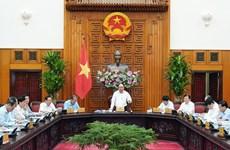 阮春福总理主持召开政府常务会议  敦促重点交通项目进度