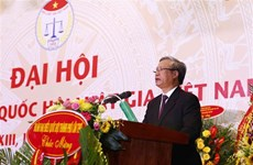 第十三届越南律师协会全国代表大会在河内举行