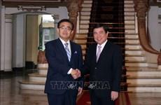胡志明市深化与日本爱知县的合作关系