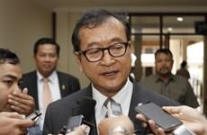 柬埔寨法院对柬反对党柬埔寨救国党流亡领导人发出逮捕令