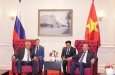 越南公安部与俄罗斯联邦内务部促进合作关系