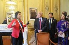 胡志明市国会代表团圆满结束访欧之旅