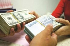 9月18日越盾对美元汇率中间价上调8越盾