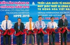 2019越南国际电力、工业、自动化机械设备展览会正式开幕