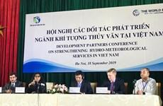 越南加强水文气象领域的发展伙伴关系