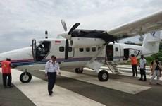 印尼开展搜寻失踪飞机的行动