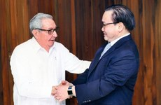 进一步加强河内市与古巴各领域的合作关系