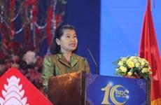 柬埔寨副首相梅森安高度评价越南BIDC银行对柬埔寨的贡献