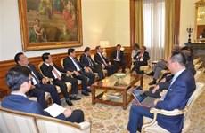 越南共产党代表团对葡萄牙进行工作访问