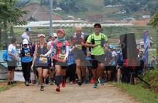 2019年越南山地马拉松比赛吸引国内外4000多名选手参加