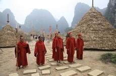 宁平省长安旅游区拆除电影《金刚:骷髅岛》取景地