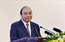 阮春福总理主持召开越南与老挝和柬埔寨合作项目评估会议