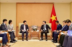 越南政府副总理郑廷勇会见乐天资产发展公司总经理