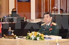 越南人民军高级代表团正式访问缅甸