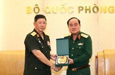 越老合作促进军队后勤建设