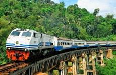 印尼与日本合作建造连接雅加达和泗水的中速铁路