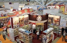 越南企业在2019年俄罗斯食品展推介产品