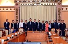 胡志明市与中国江苏省加强民选机关的合作