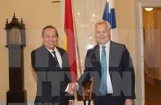 越南政府常务副总理张和平访问芬兰:芬兰支持早日批准EVFTA