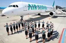 韩国首尔航空公司即将开通飞往越南首都河内的航线
