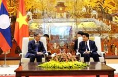 河内市努力扩大与老挝各地方的合作关系