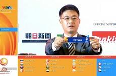 U23亚洲杯分组抽签揭晓出炉:越南队与朝鲜、约旦和阿联酋在同一个小组