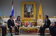 越南祖国阵线中央委员会代表团对泰国进行工作访问