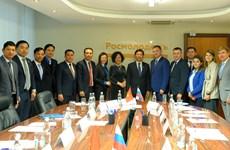 进一步增强越俄两国青年的合作与交流