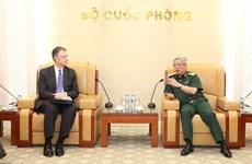 防务安全合作是越美关系的亮点