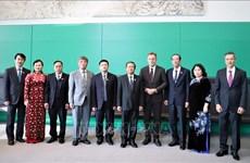 越南国会高级代表团对德国进行工作访问