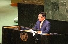 越南政府副总理范平明:激发多边主义活力  致力于和平与可持续发展