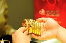 9月30日越南国内黄金价格上涨25万越盾