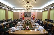 越英在河内举行第二次防务政策对话