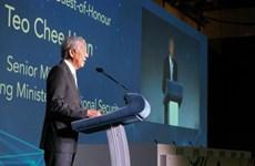 越南公安部副部长阮文成率团参加第四届新加坡国际网络周