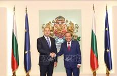 保加利亚总统:越南是保加利亚重要的东南亚伙伴