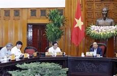 越南政府总理阮春福主持召开越共十三大经济社会常设小组会议